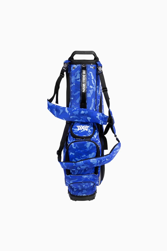 Fairway Camo™ Paratrooper Blue Carry Stand Bag Image 2