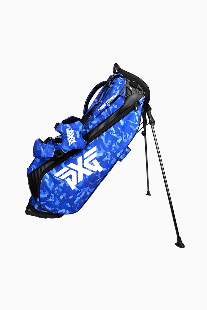Fairway Camo™ Paratrooper Blue Carry Stand Bag Image 4