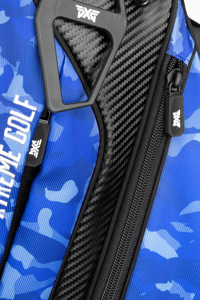 Fairway Camo™ Paratrooper Blue Carry Stand Bag Image 5