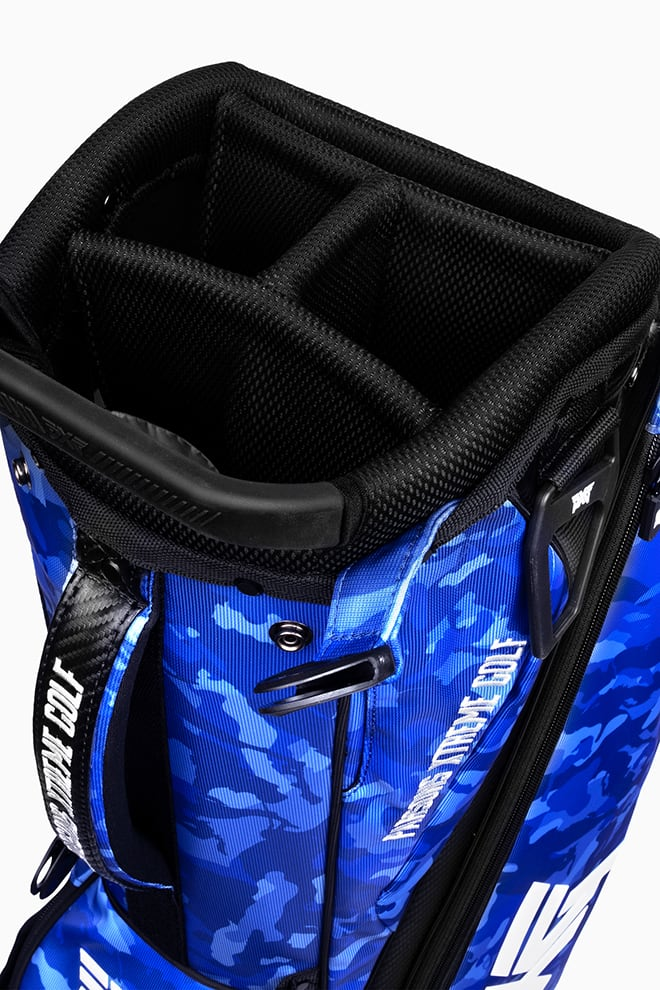 Fairway Camo™ Paratrooper Blue Carry Stand Bag Image 8
