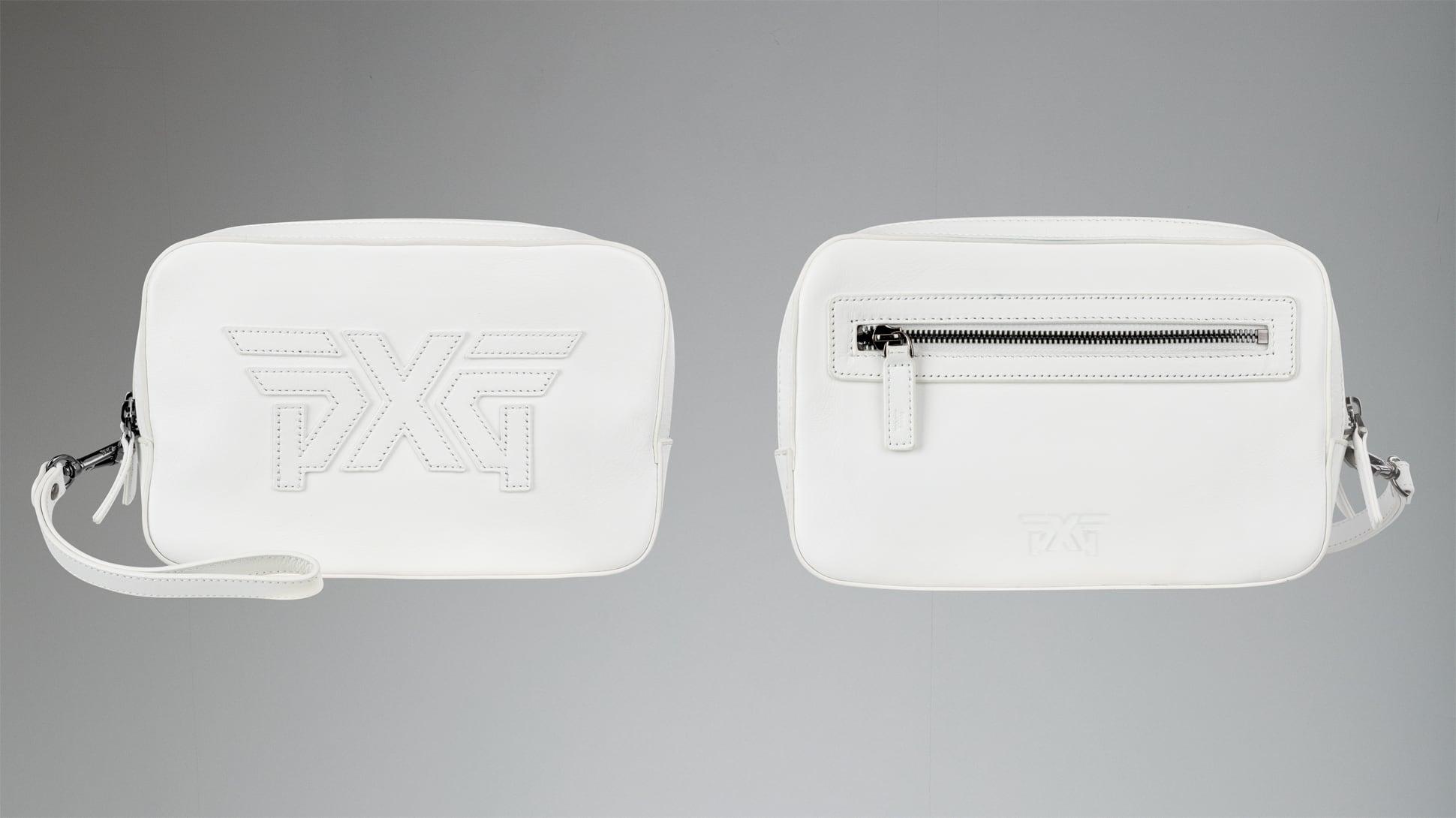 Double-Zip Clutch Image 1