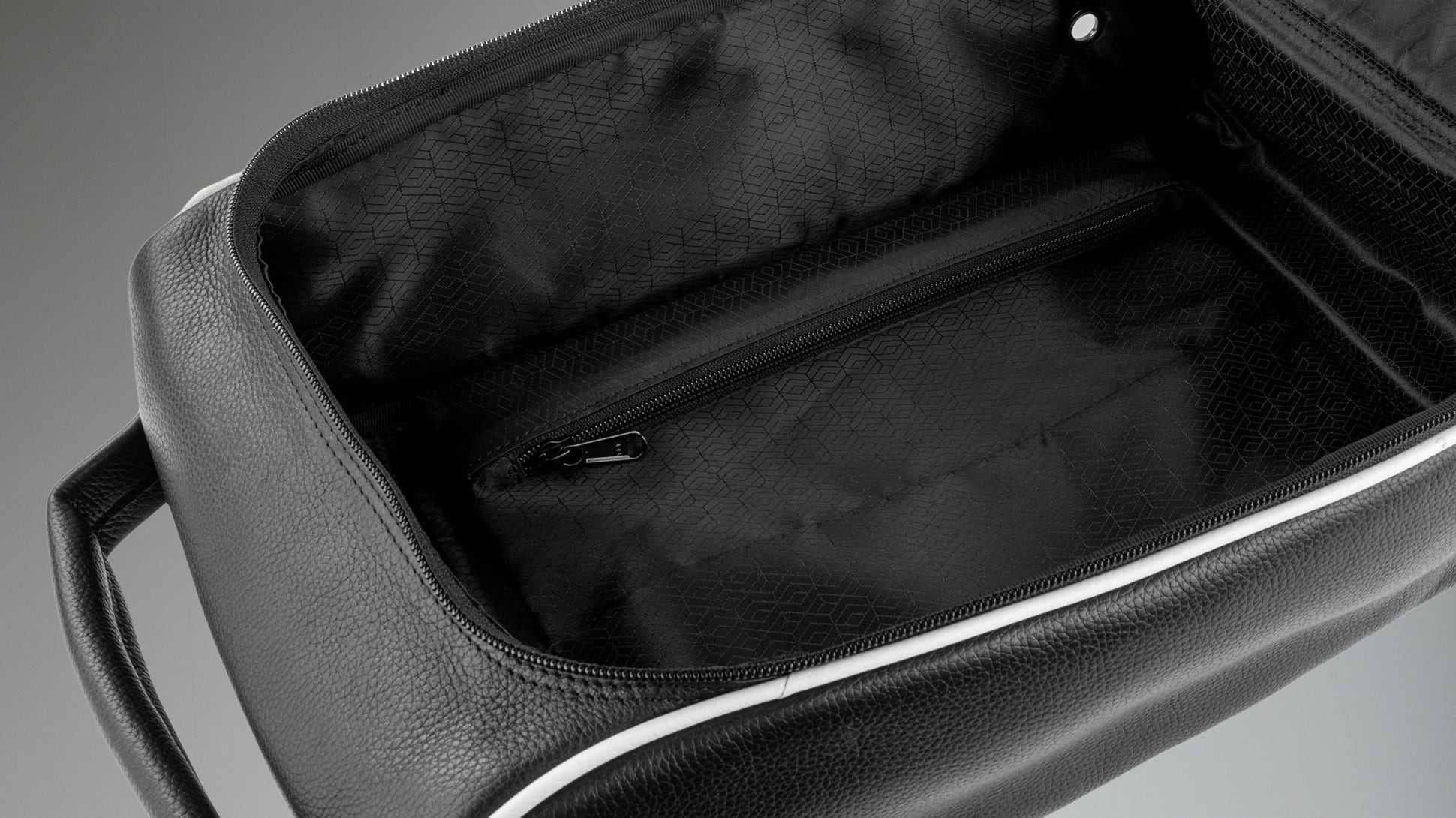 Classic Leather Shoe Bag Image 2