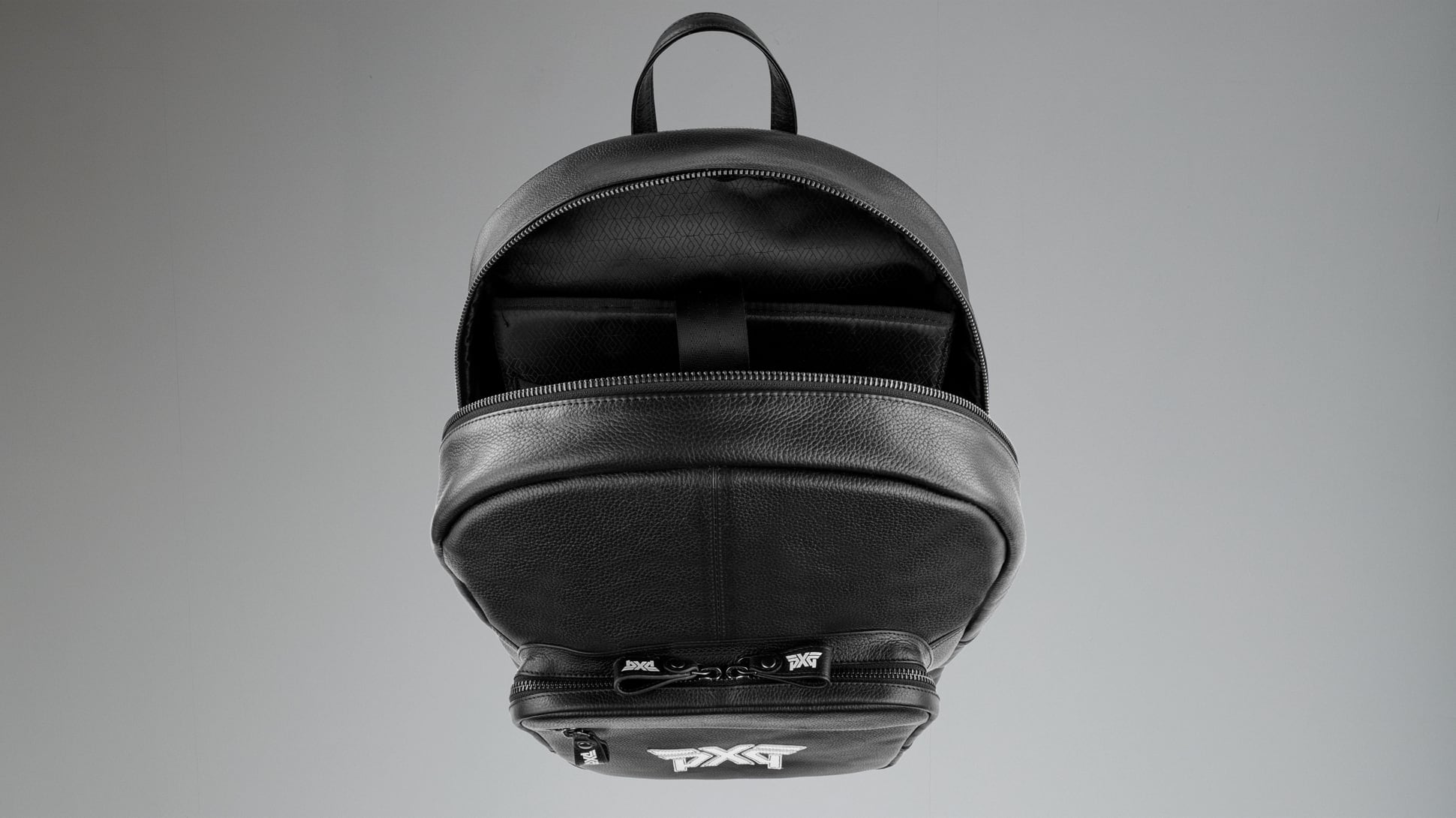 Men's Classic Leather Backpack Image 2