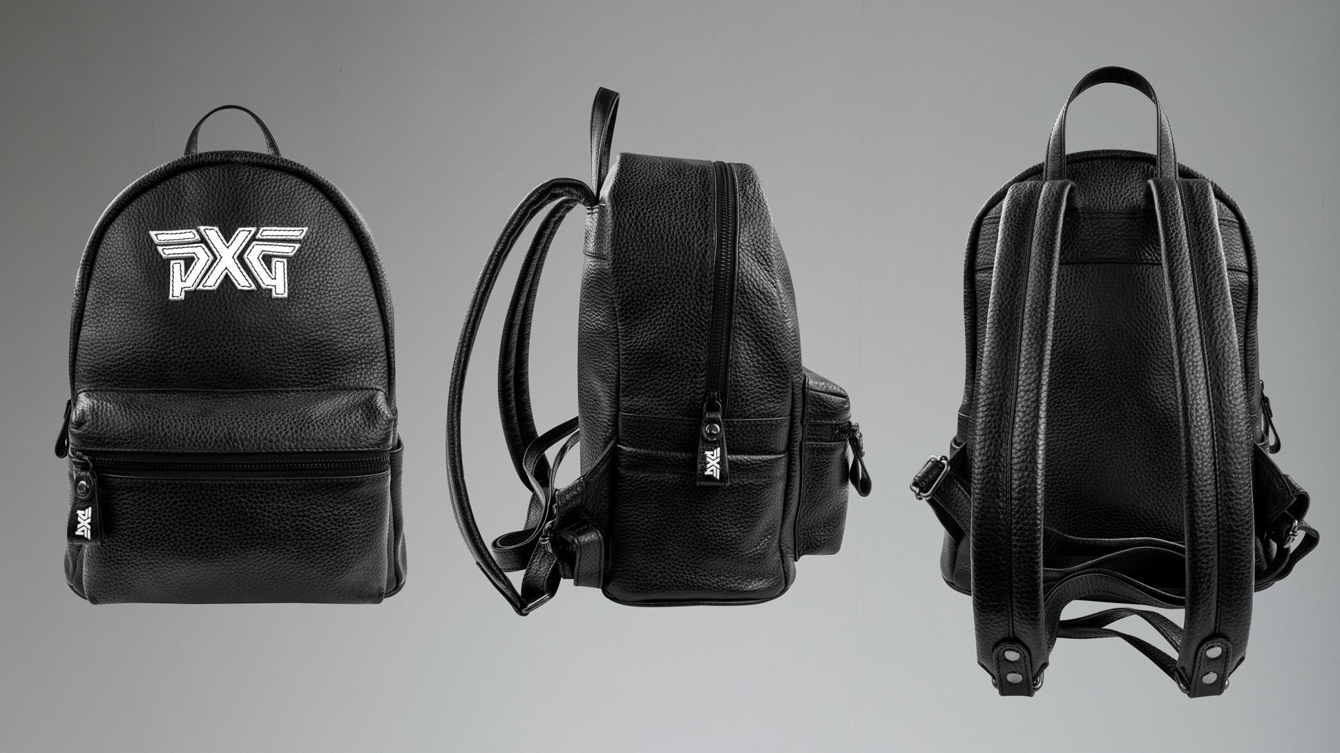 Women's Classic Leather Backpack Image 1