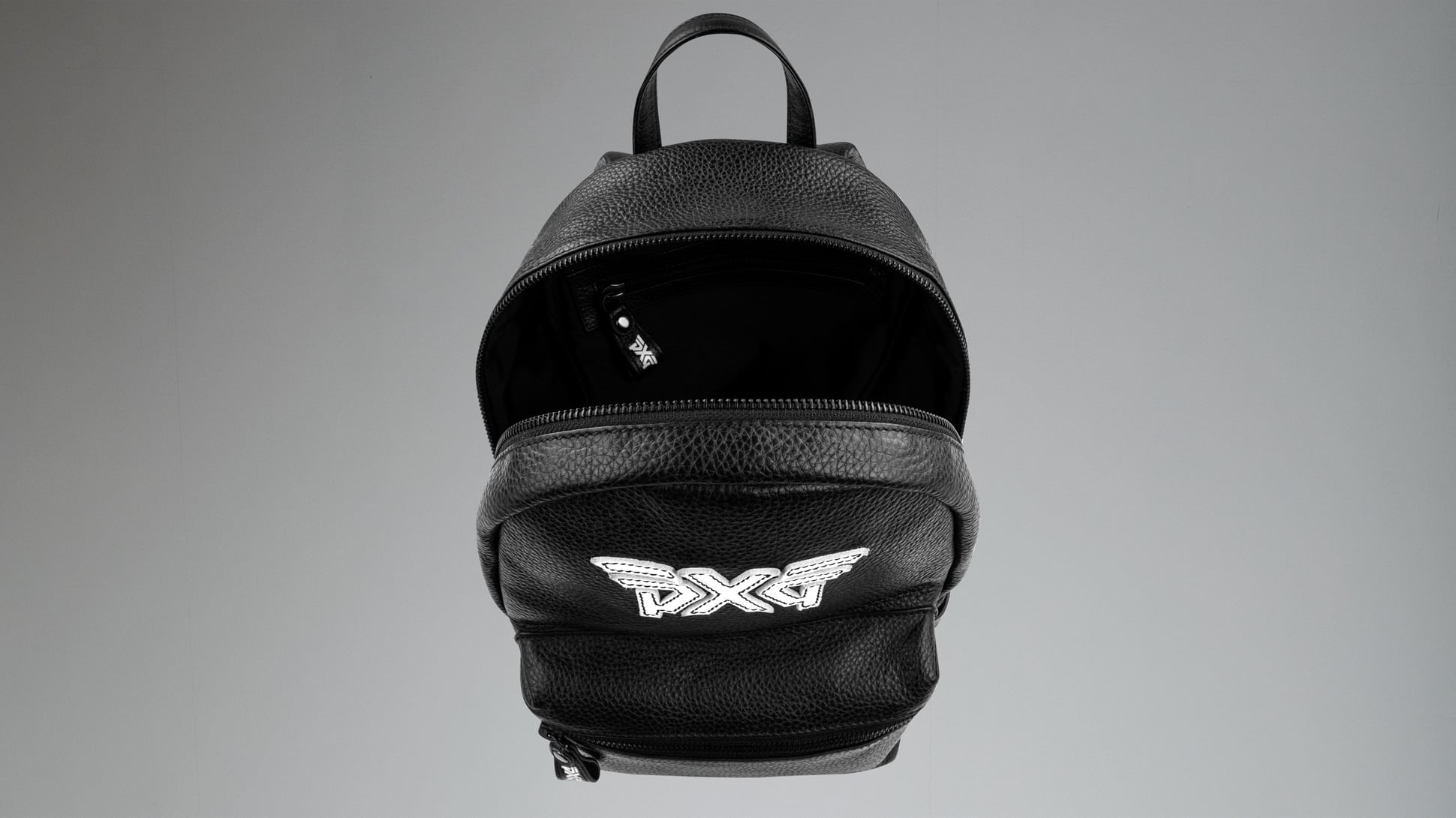 Women's Classic Leather Backpack Image 2