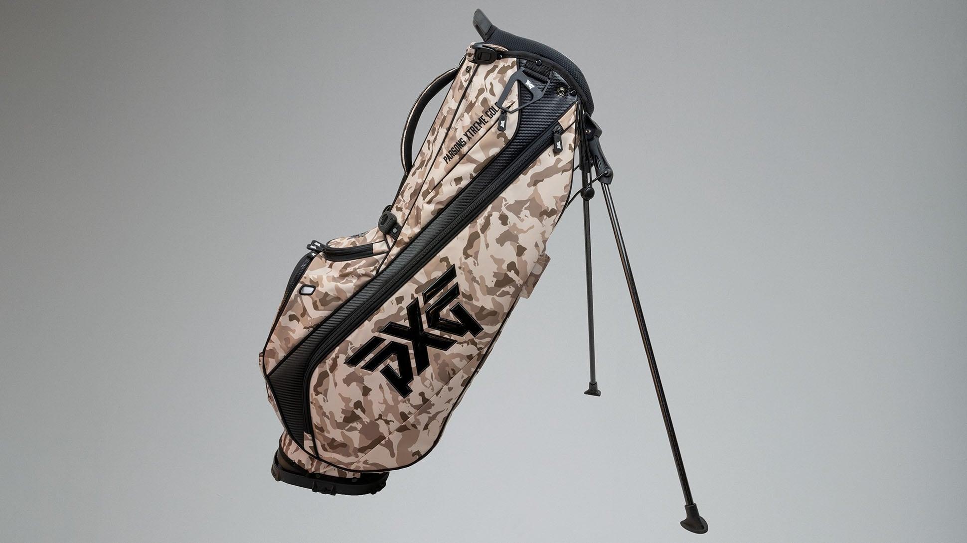 Desert Tan Fairway Camo™ Carry Stand Bag Image 2