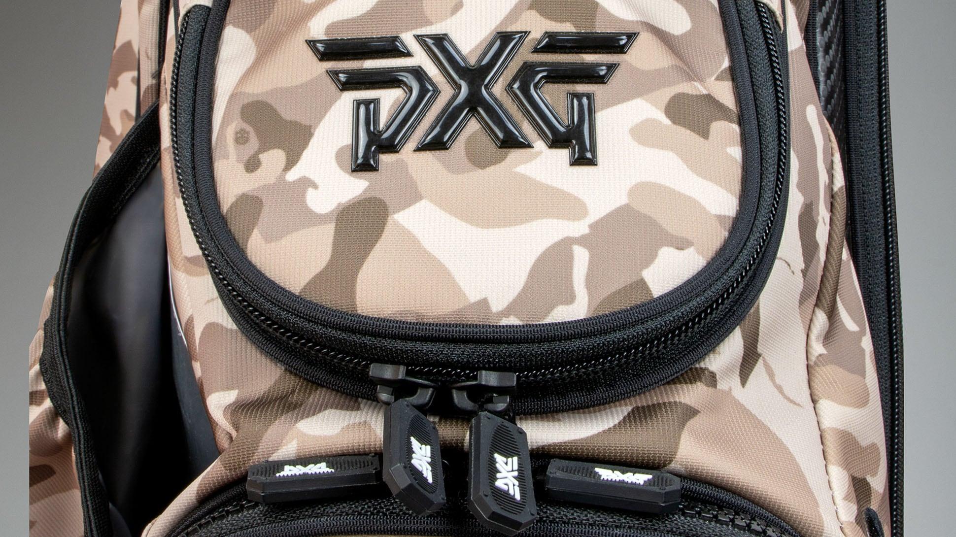 Desert Tan Fairway Camo™ Carry Stand Bag Image 3