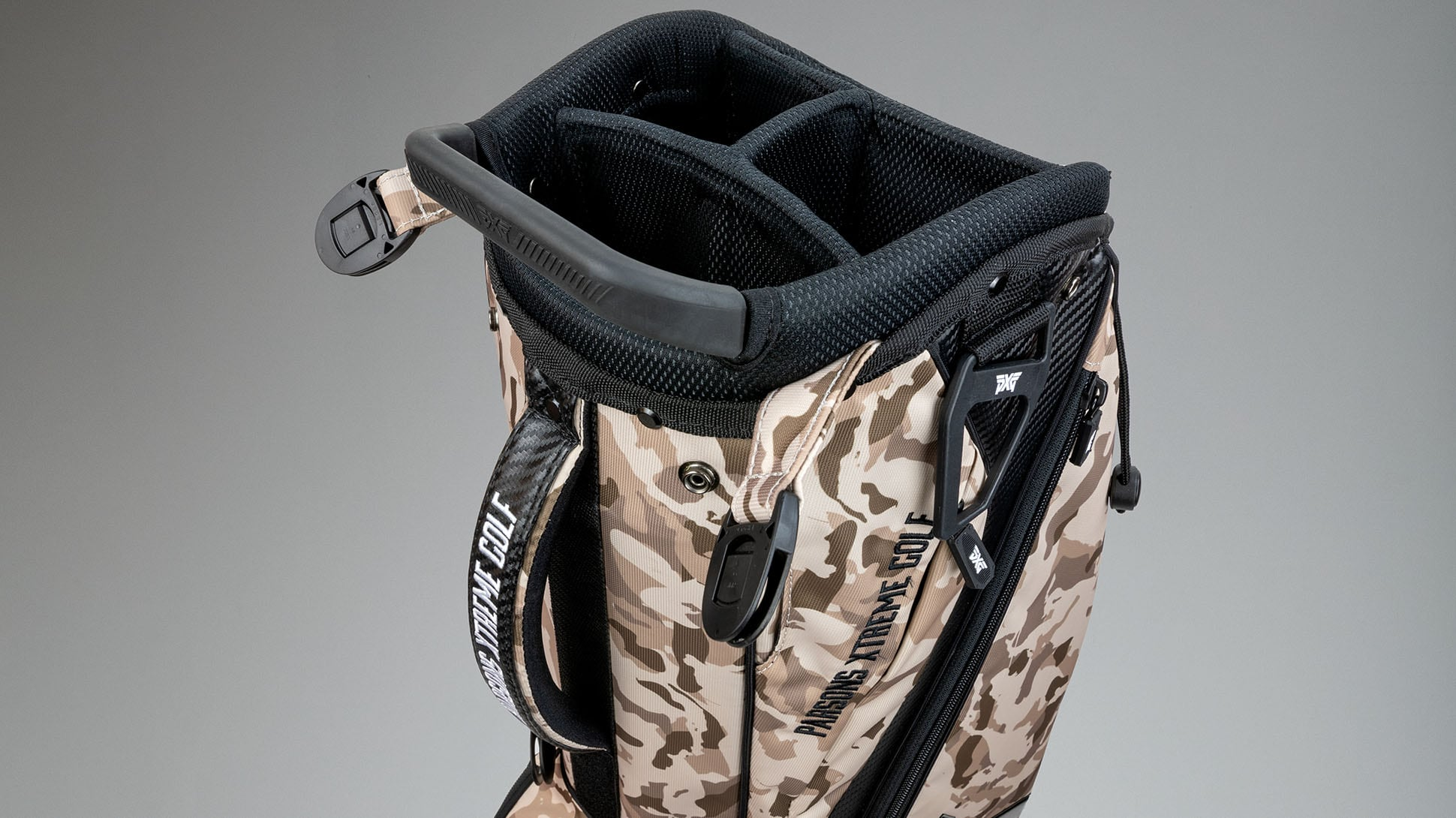 Desert Tan Fairway Camo™ Carry Stand Bag Image 4