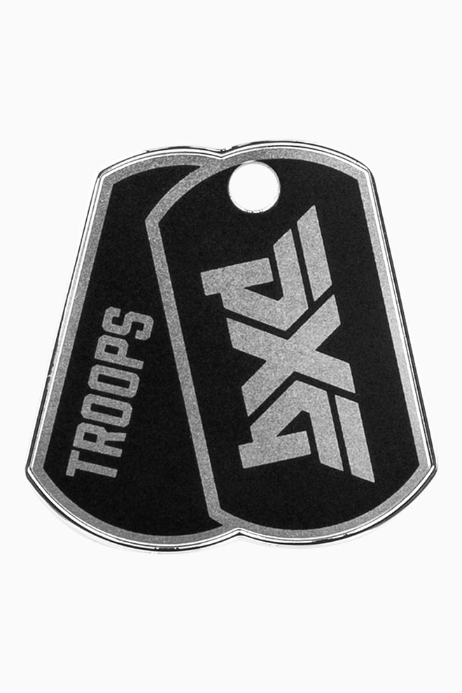 Troops Dog Tag Ball Marker Image 1