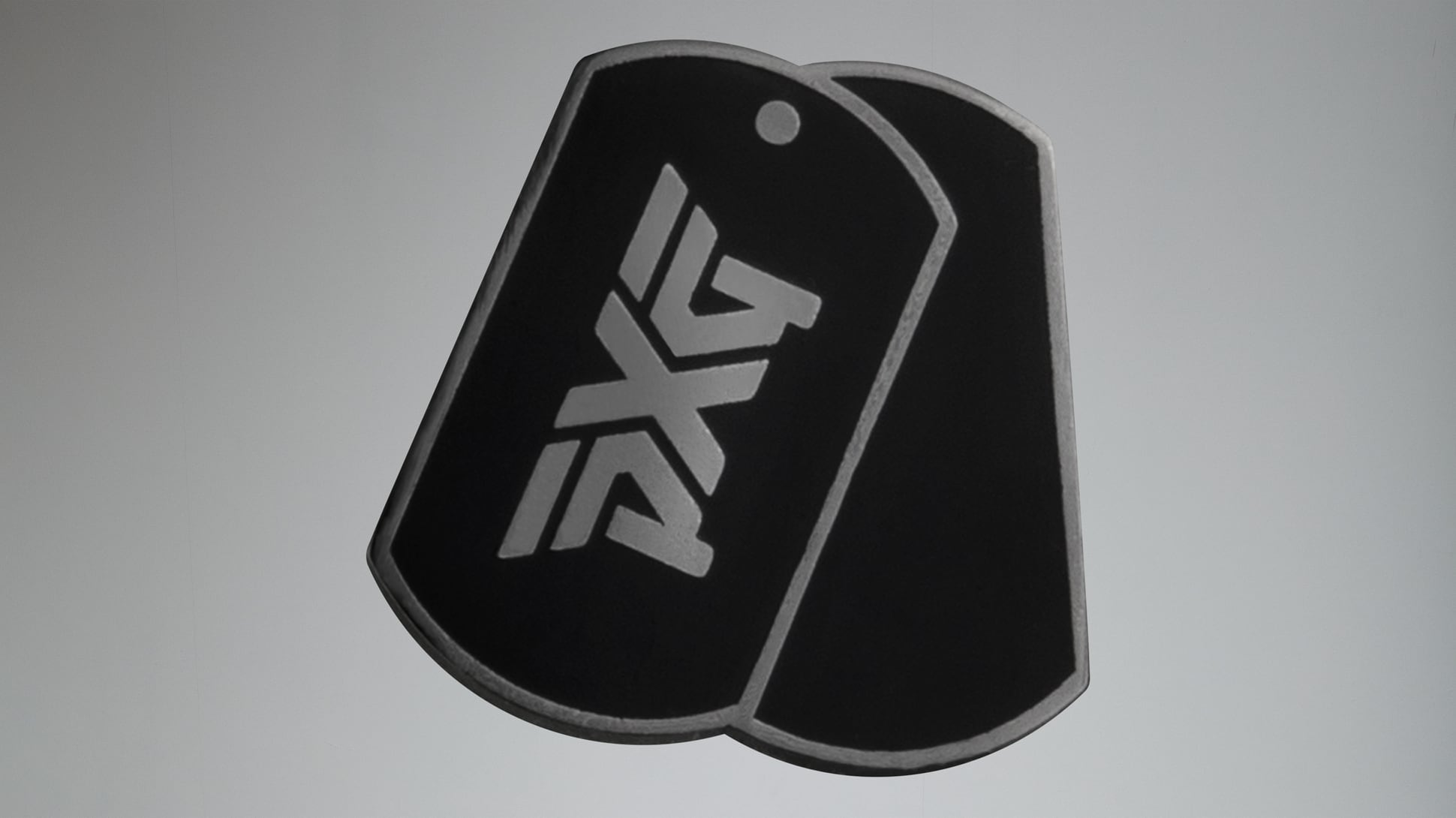 Darkness Dog Tag Ball Marker Image 2