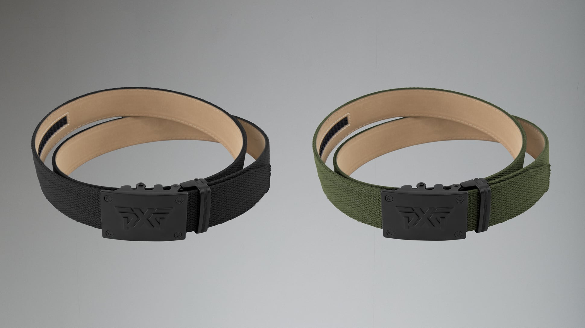 Ratchet Belt - Black/OD Green Image 1