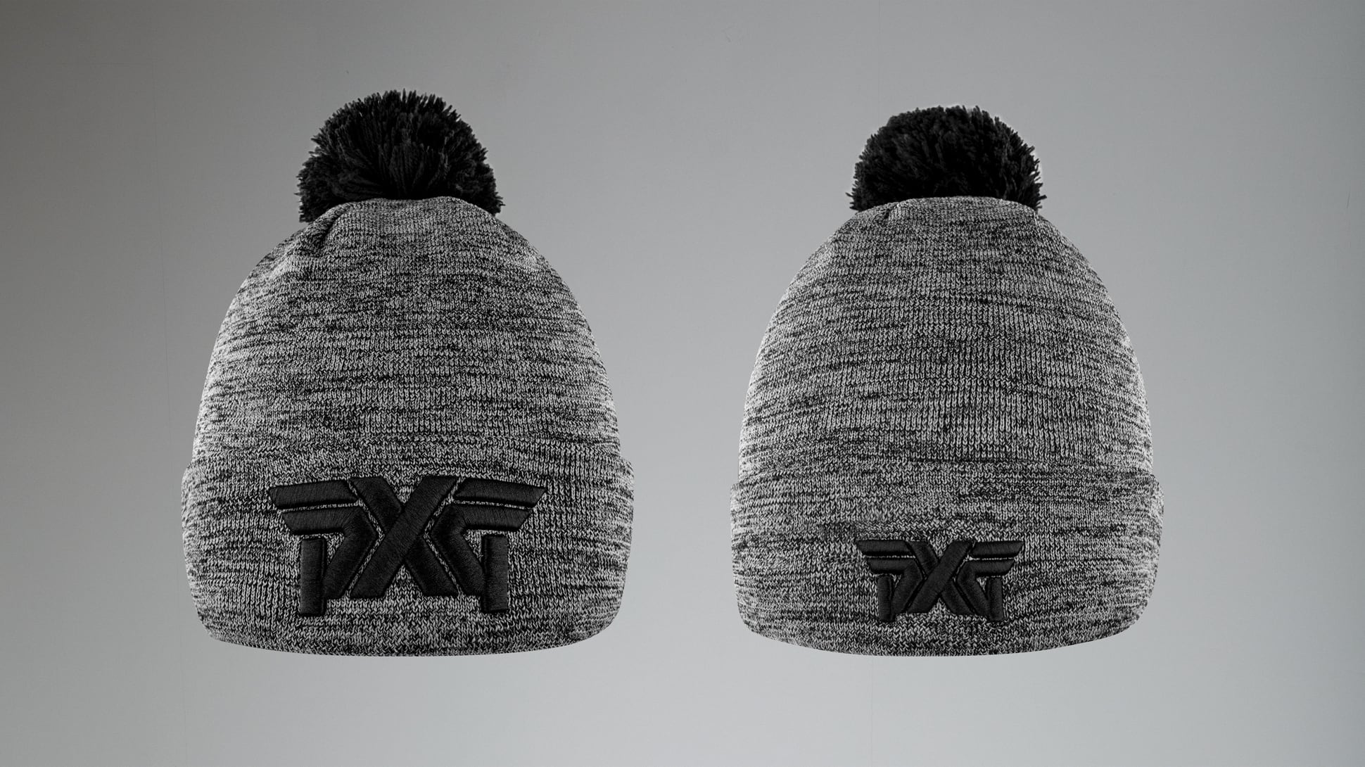 Heathered Storm Knit Beanie Image 1