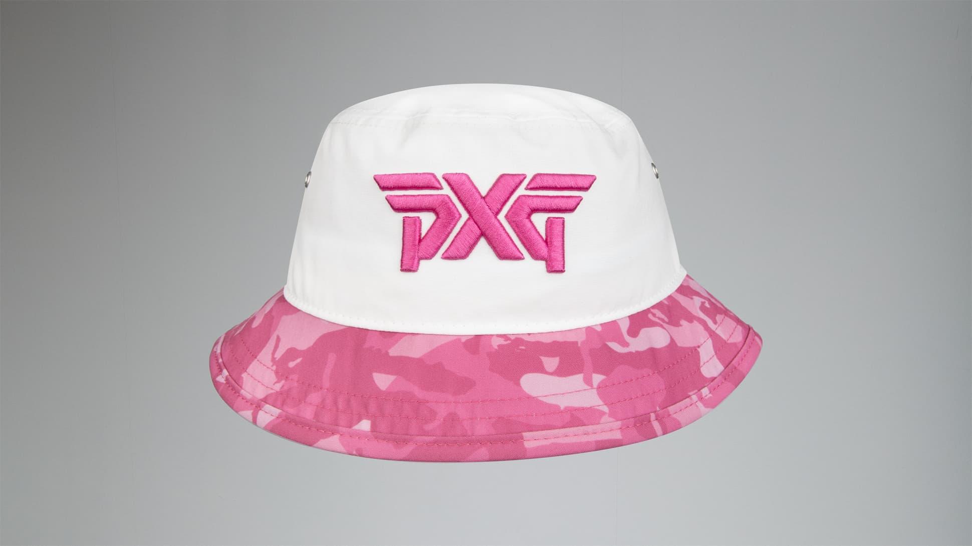 Fairway Camo™ Pink Bucket Hat Image 2