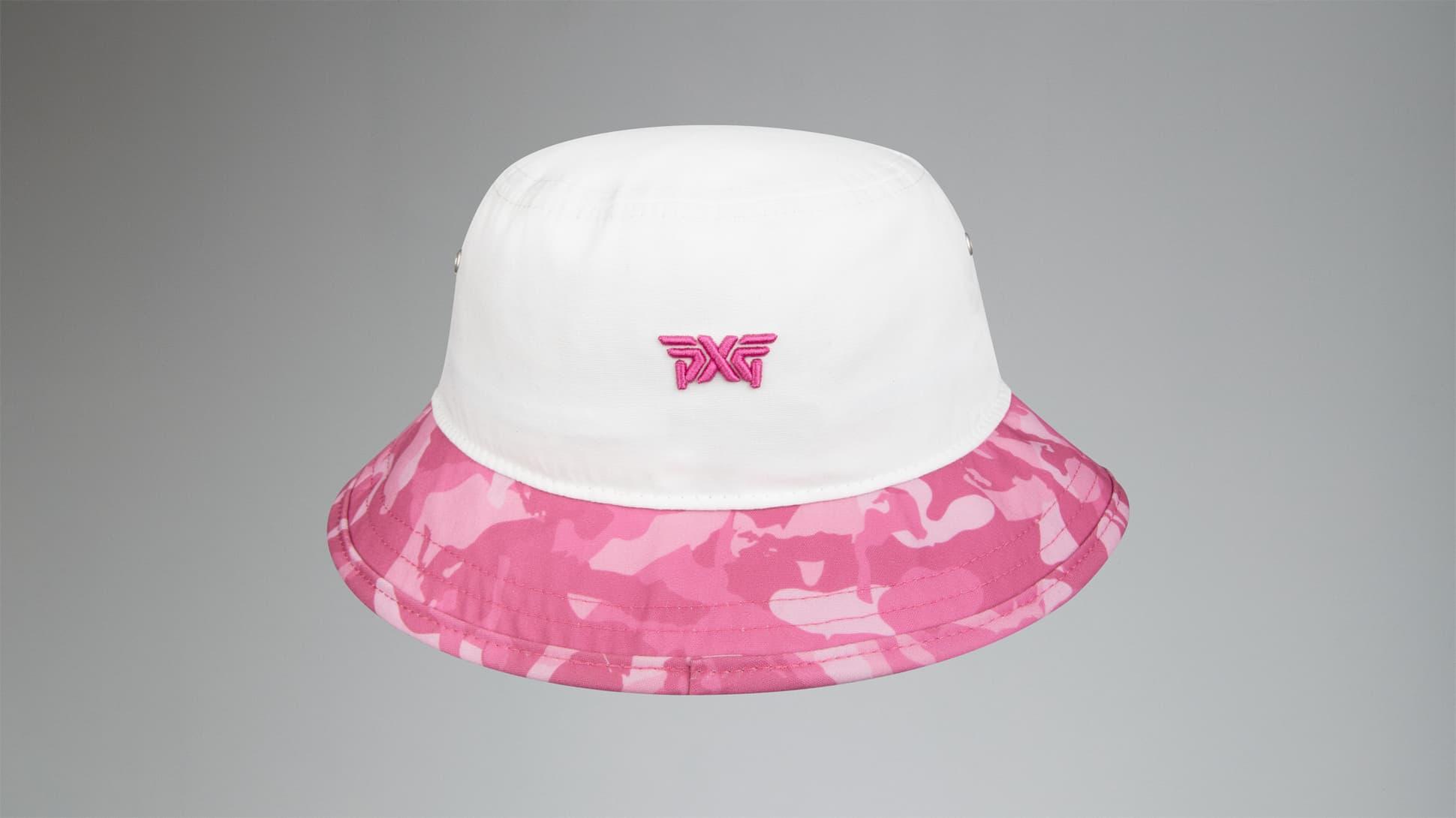 Fairway Camo™ Pink Bucket Hat Image 3