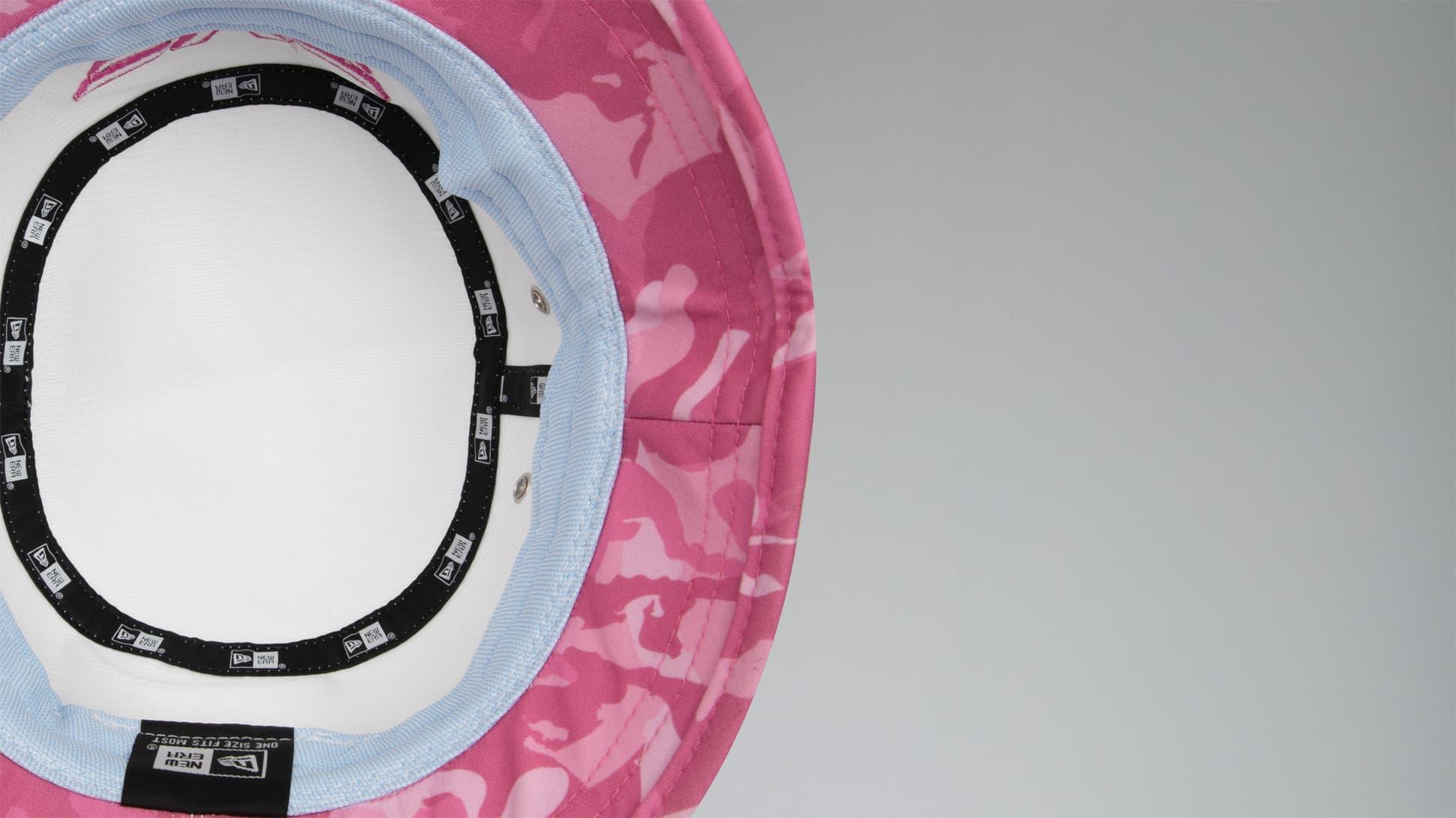 Fairway Camo™ Pink Bucket Hat Image 5