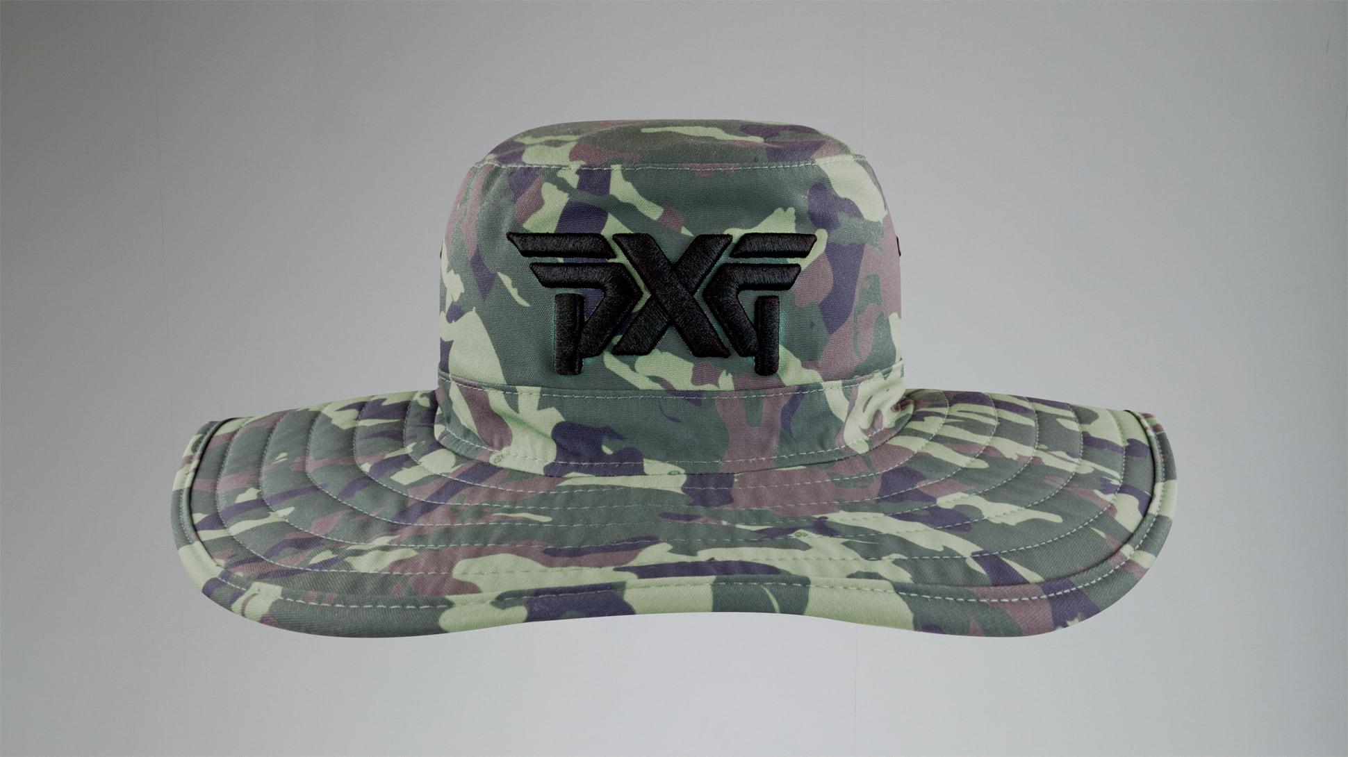 Jungle Camo Bush Hat Image 2