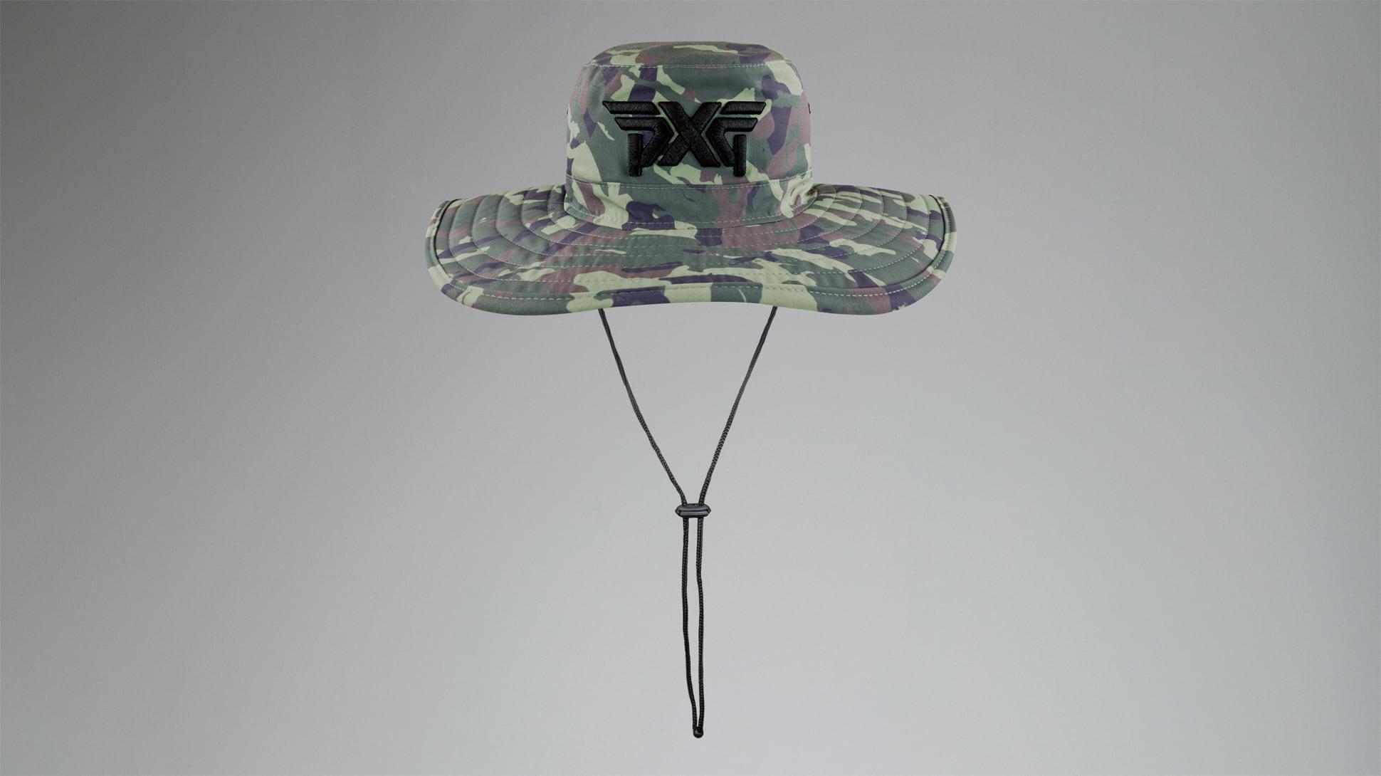 Jungle Camo Bush Hat Image 3