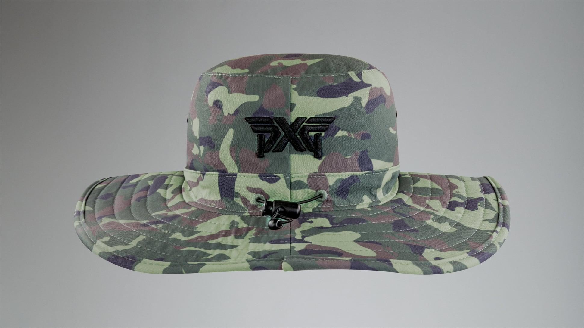 Jungle Camo Bush Hat Image 4