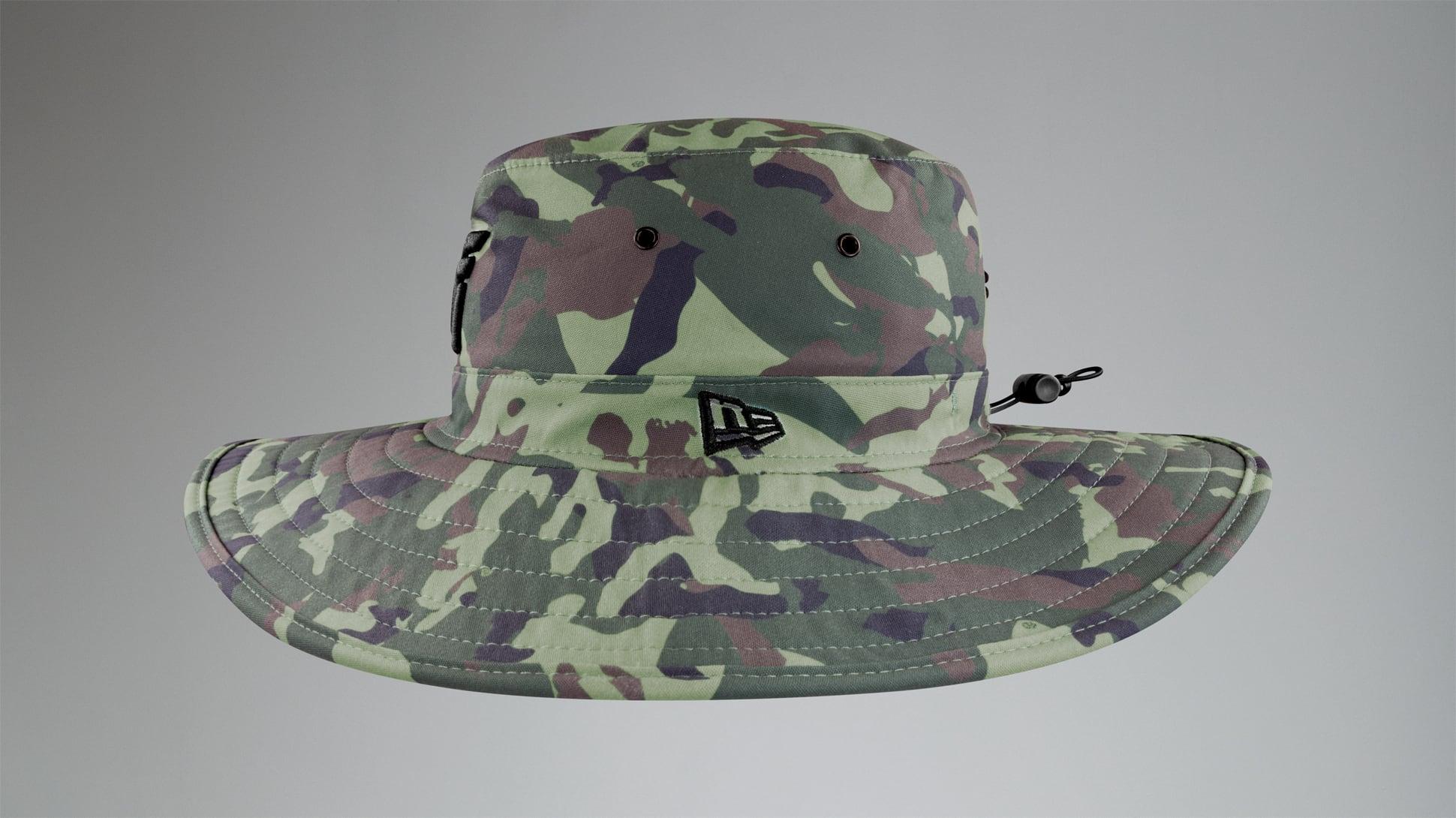 Jungle Camo Bush Hat Image 5