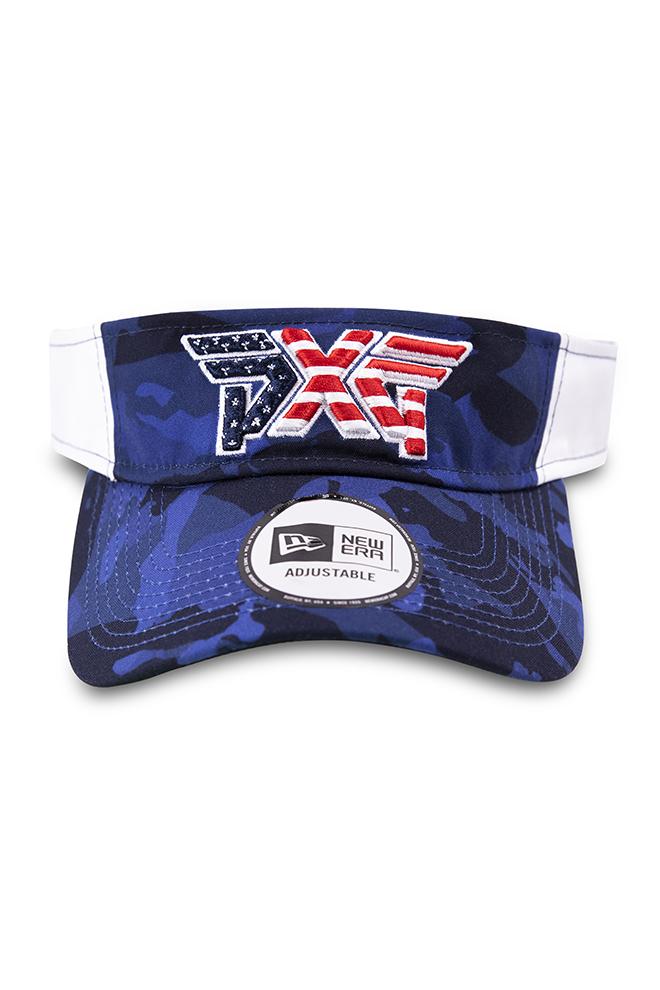 Stars & Stripes Sport Visor Image 1
