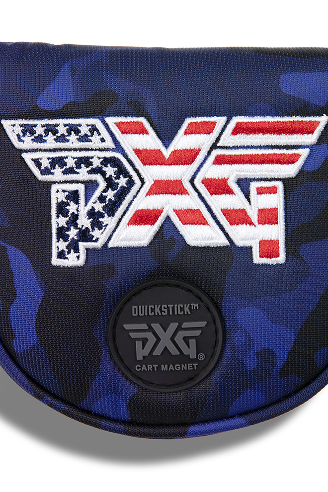 Stars & Stripes Mallet Putter Headcover Image 4