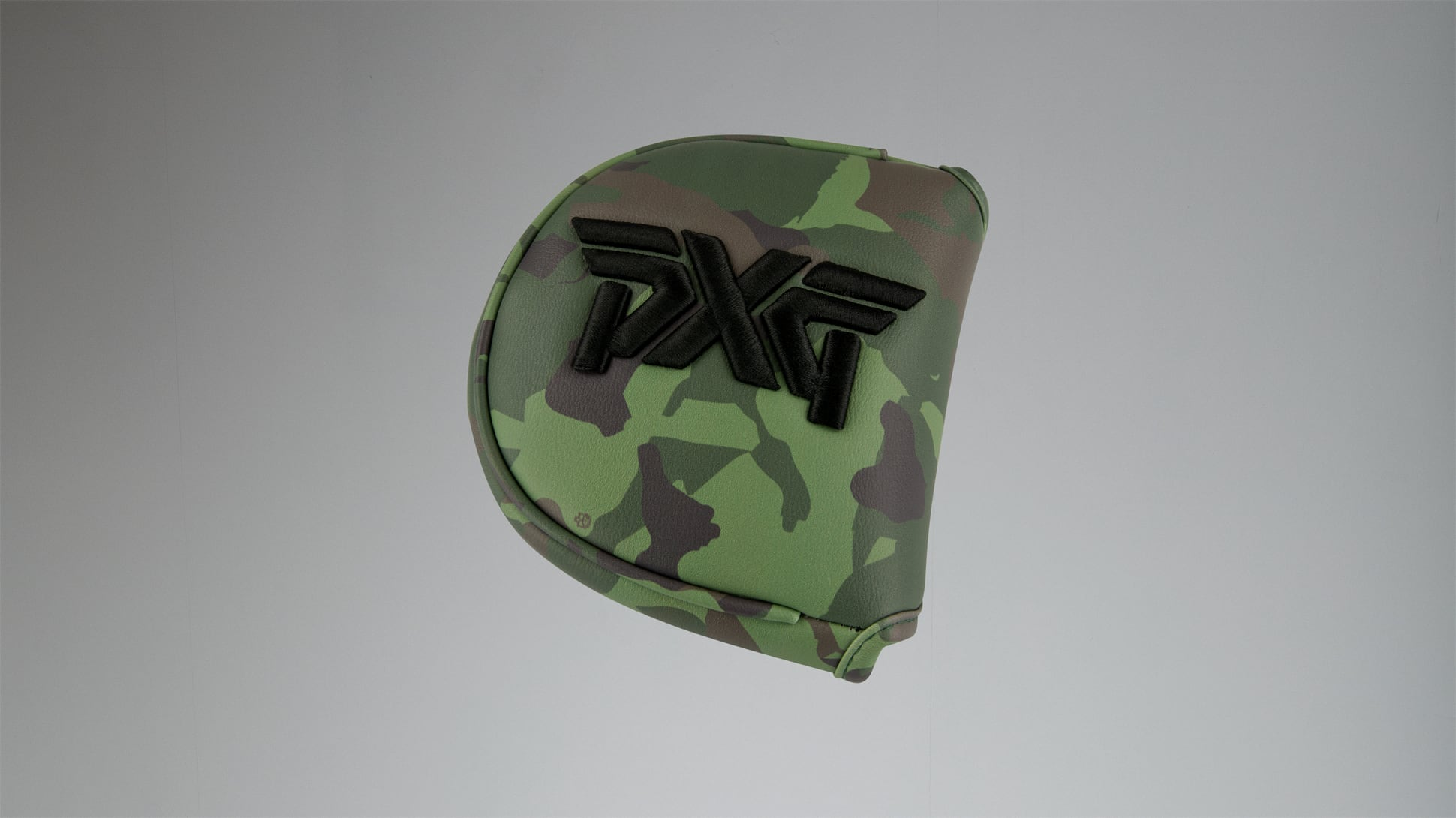 Jungle Camo Mallet Putter Headcover Image 1