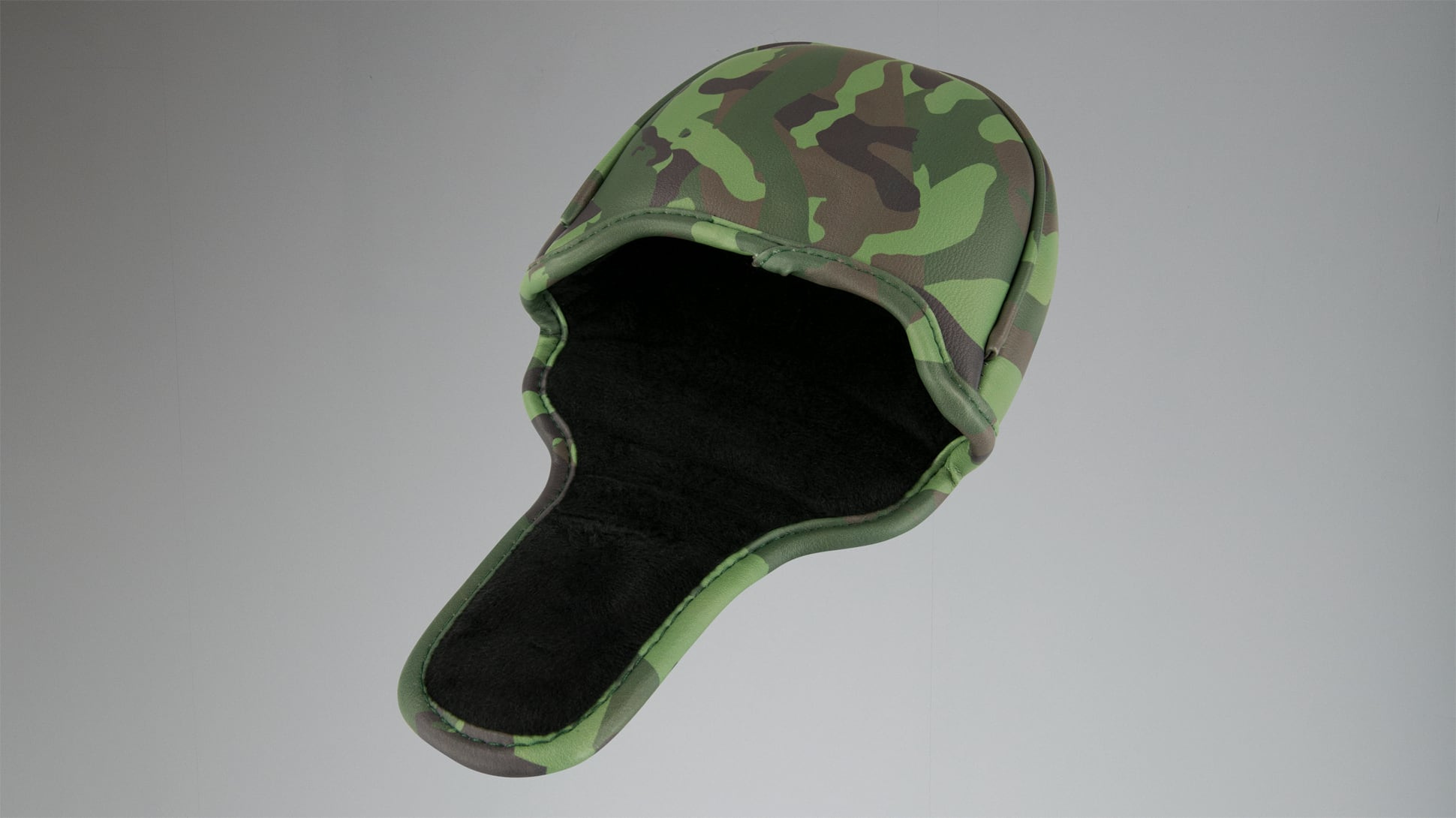 Jungle Camo Mallet Putter Headcover Image 3