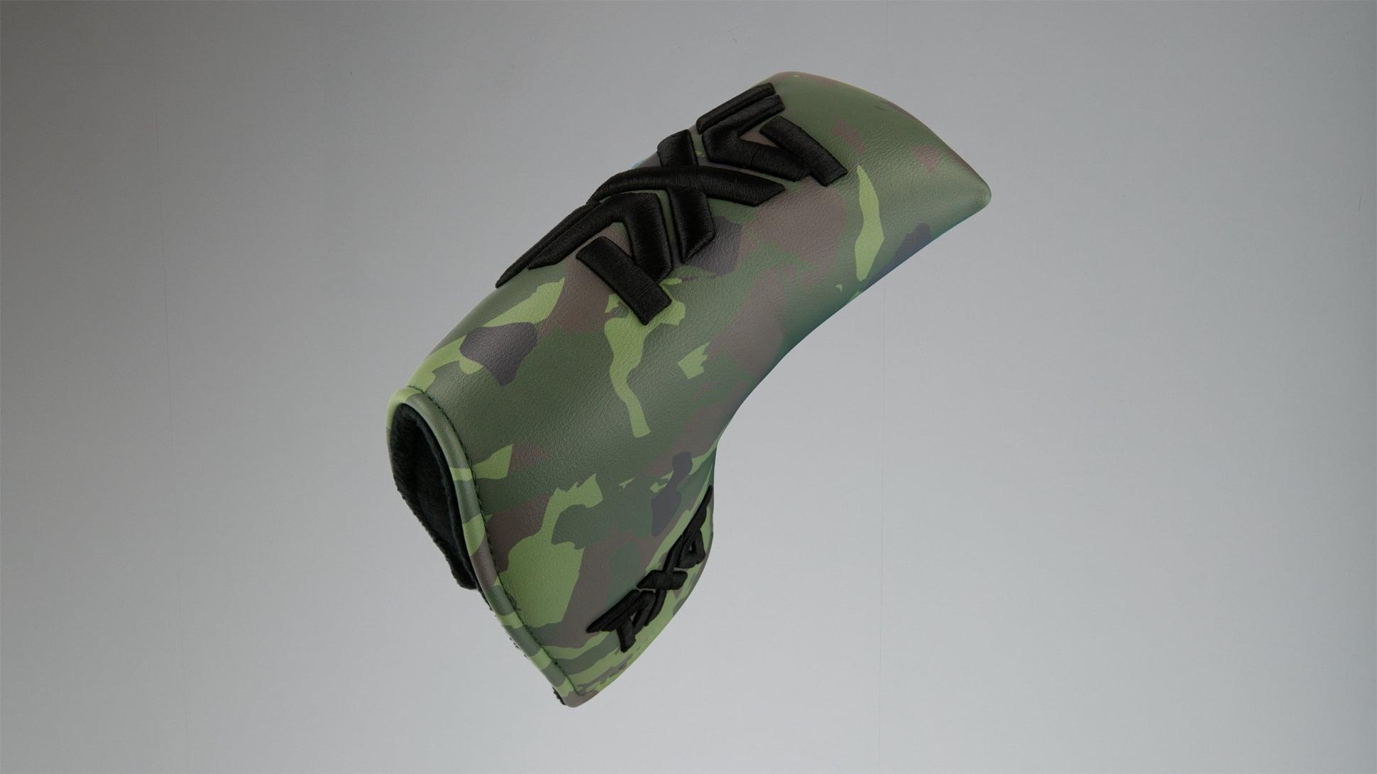 Jungle Camo Standard Blade Putter Headcover Image 1
