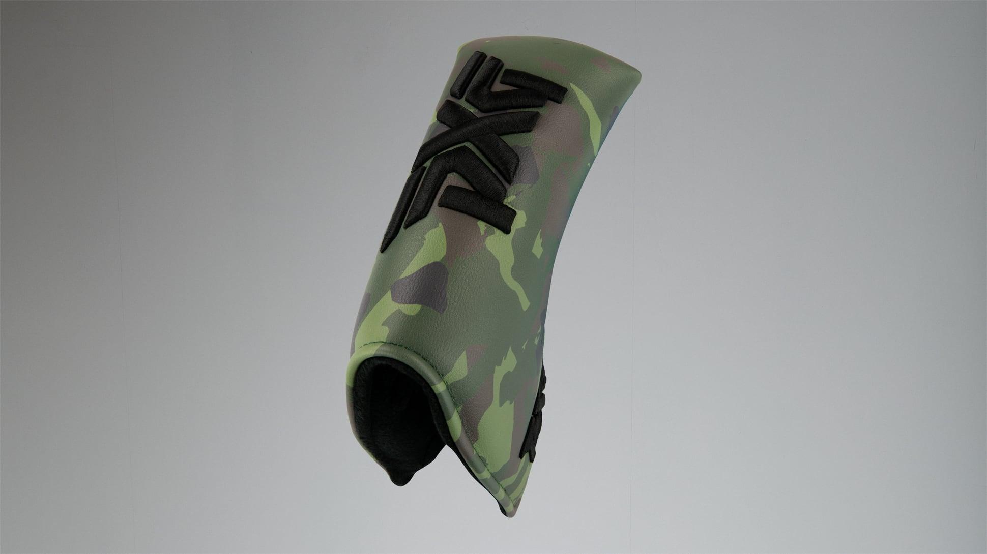 Jungle Camo Standard Blade Putter Headcover Image 3