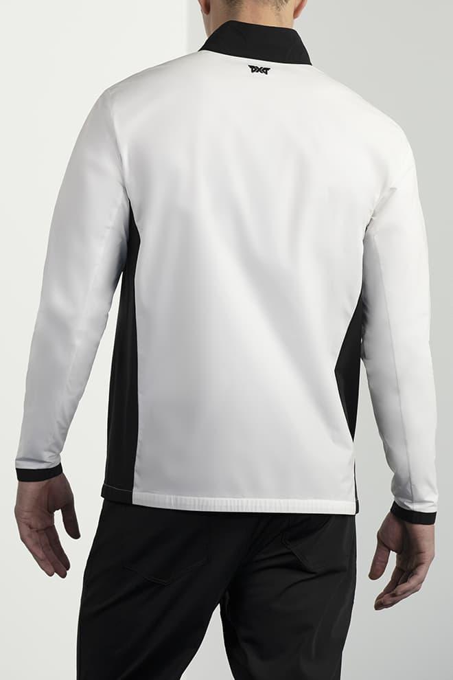 Full-Zip Color Block Jacket Image 4