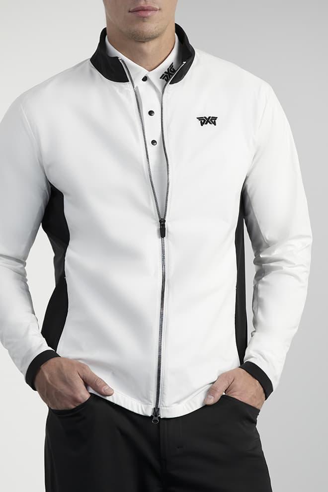 Full-Zip Color Block Jacket Image 2