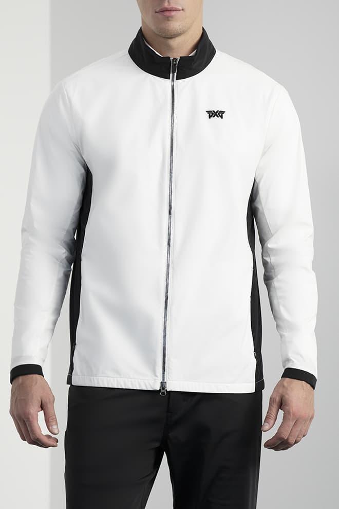 Full-Zip Color Block Jacket Image 1
