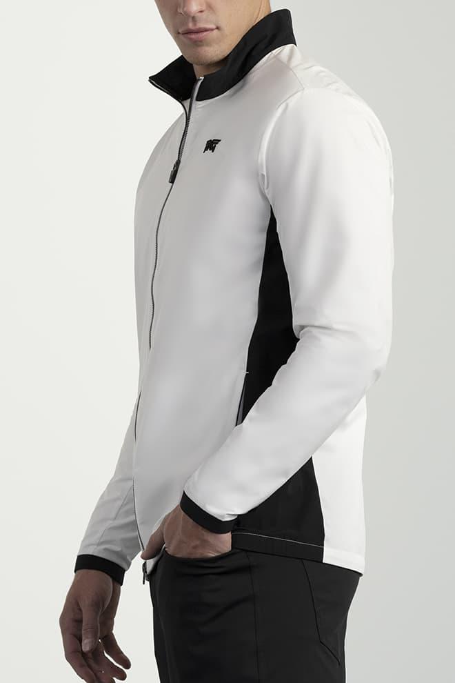 Full-Zip Color Block Jacket Image 3