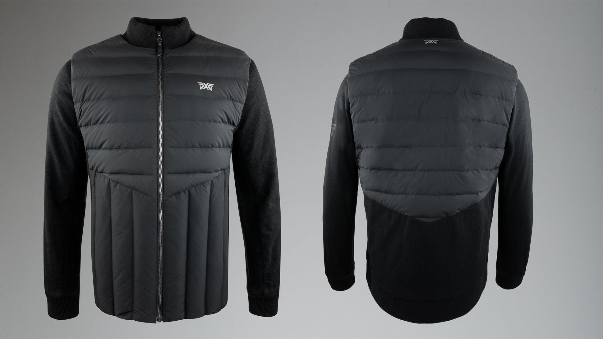 Patch Knit Down Hybrid Jacket Image 1