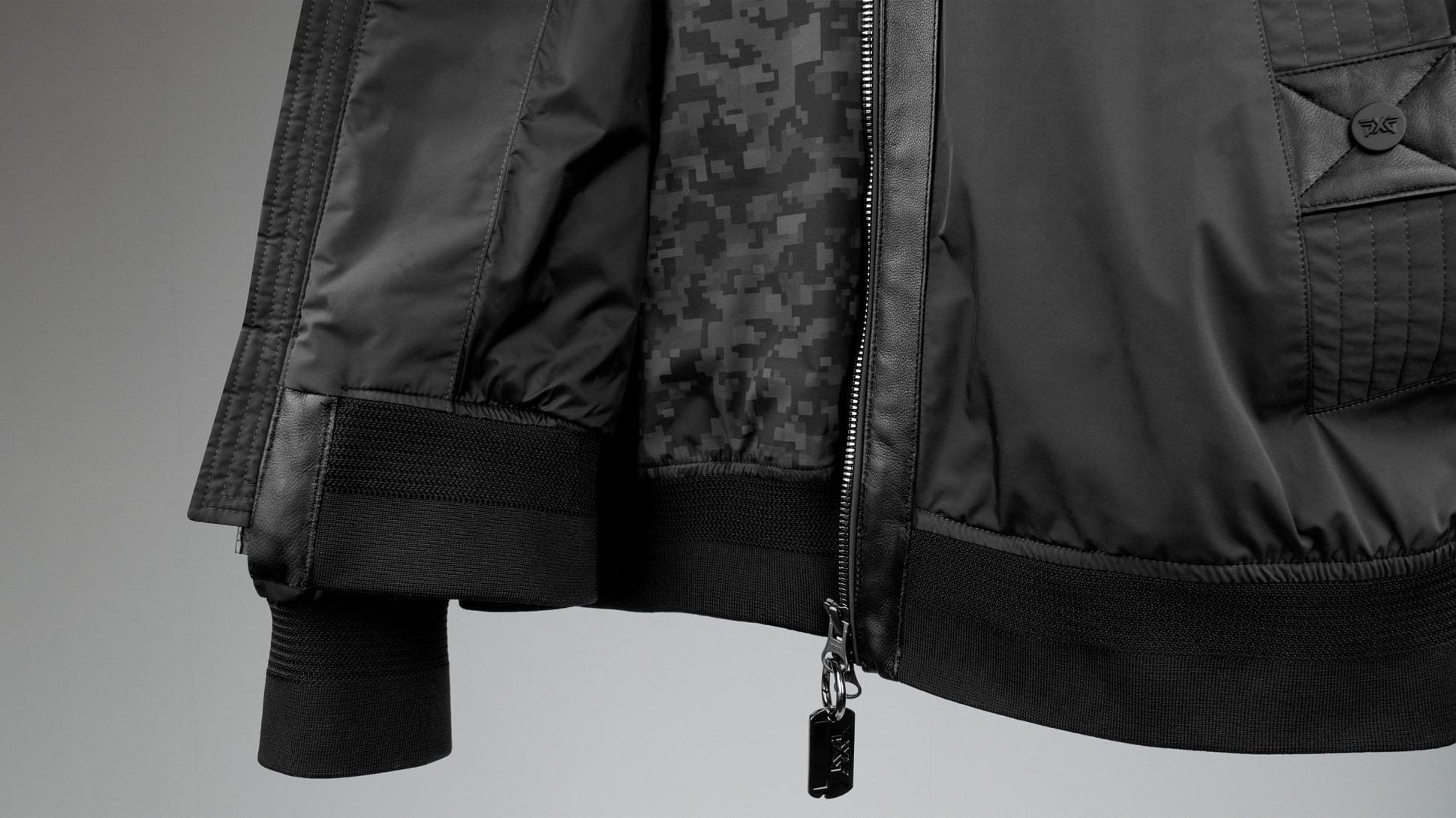 Signature Zip-Front Bomber Jacket Image 8