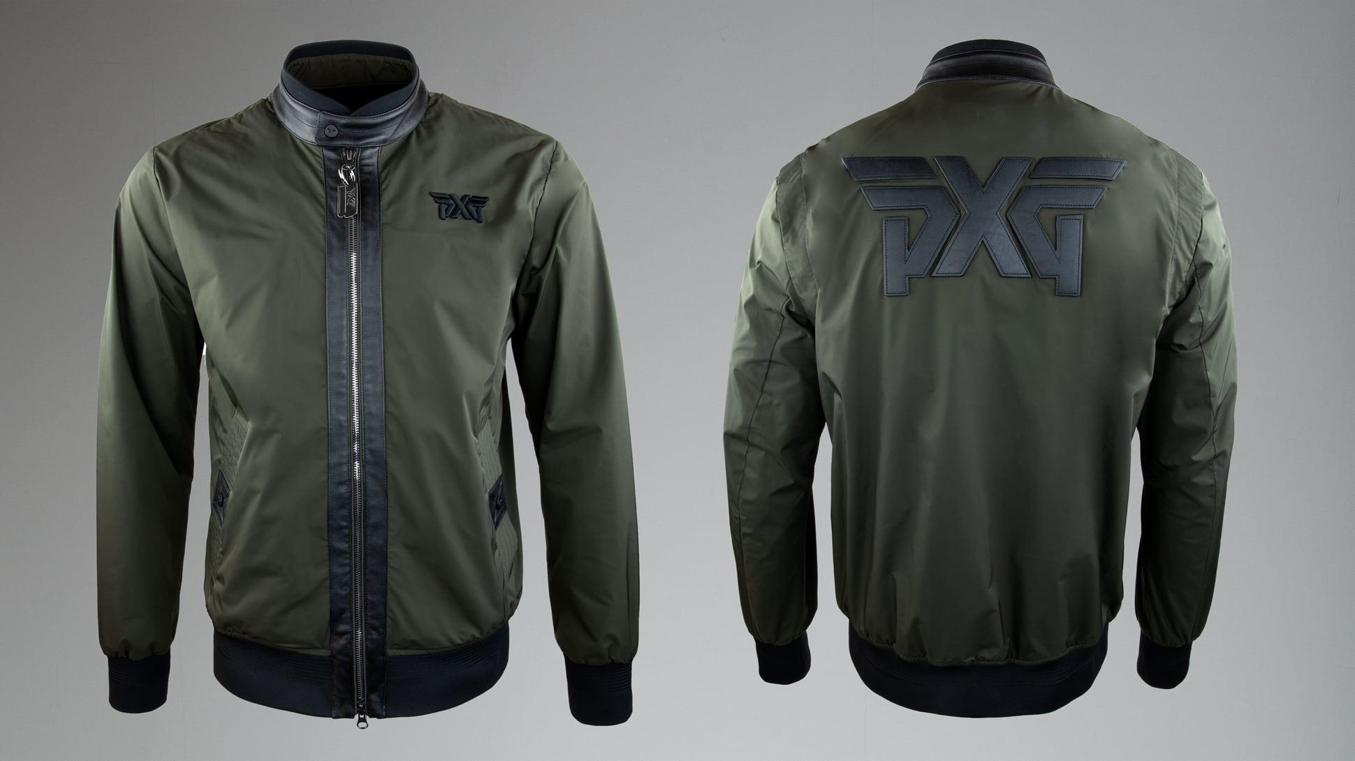 Signature Zip-Front Bomber Jacket Image 1
