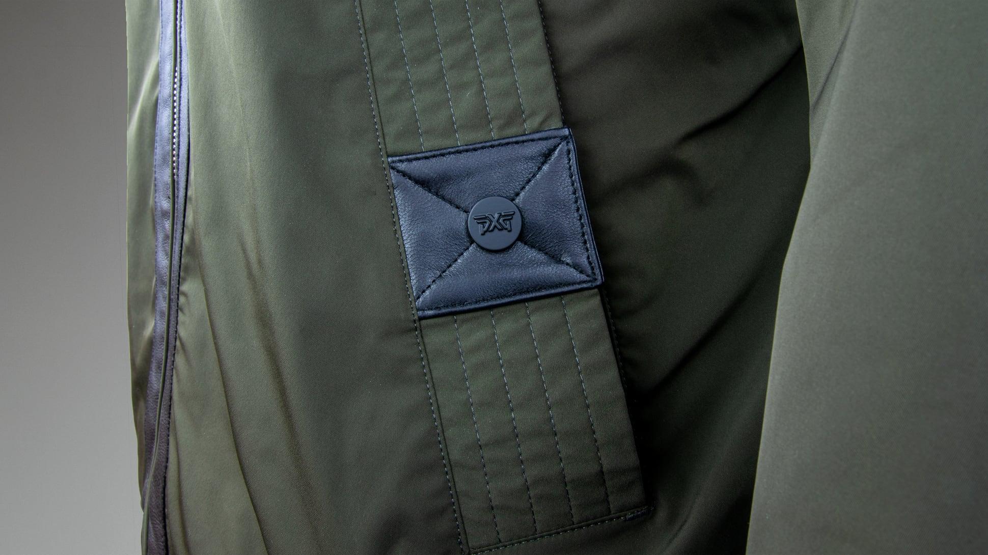 Signature Zip-Front Bomber Jacket Image 4