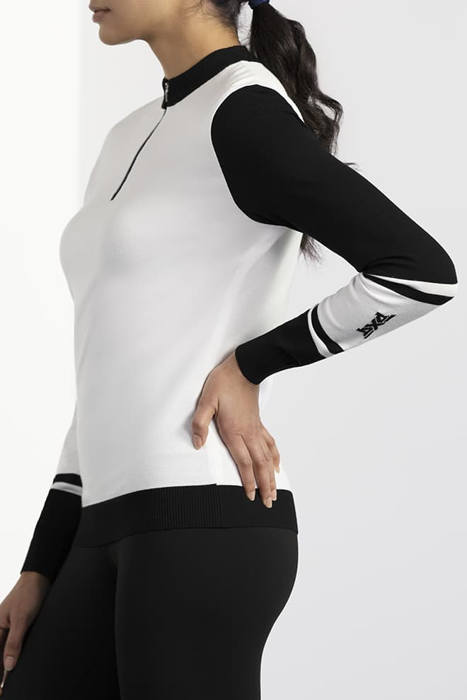Big Logo Sleeve Sweater Image 4