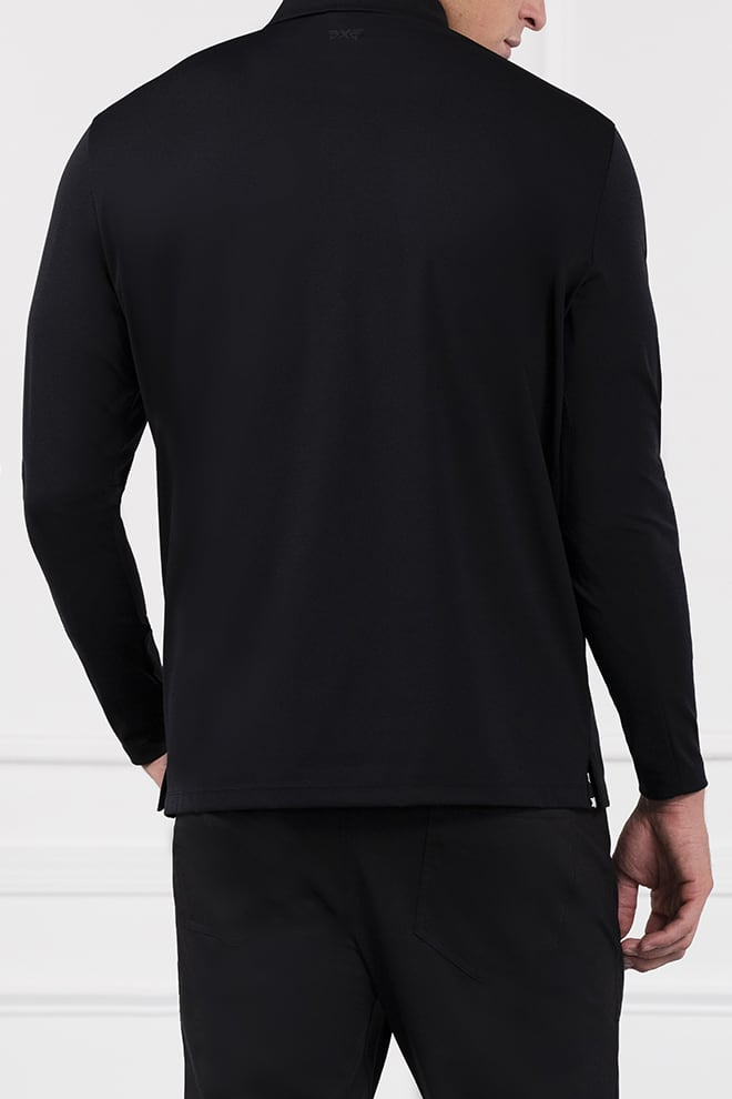Everyday Luxe Long Sleeve Polo Image 4