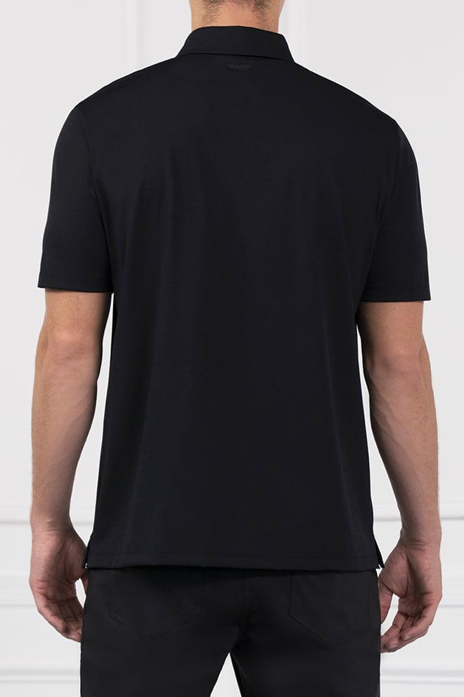 Comfort Fit Everyday Luxe Short Sleeve Polo Image 4