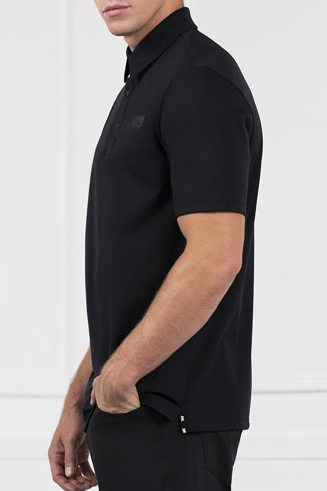 Comfort Fit Everyday Luxe Short Sleeve Polo Image 2