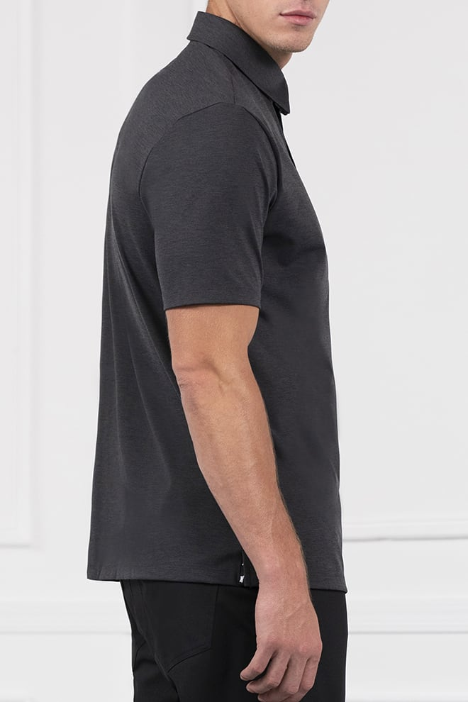 Comfort Fit Everyday Luxe Short Sleeve Polo Image 3