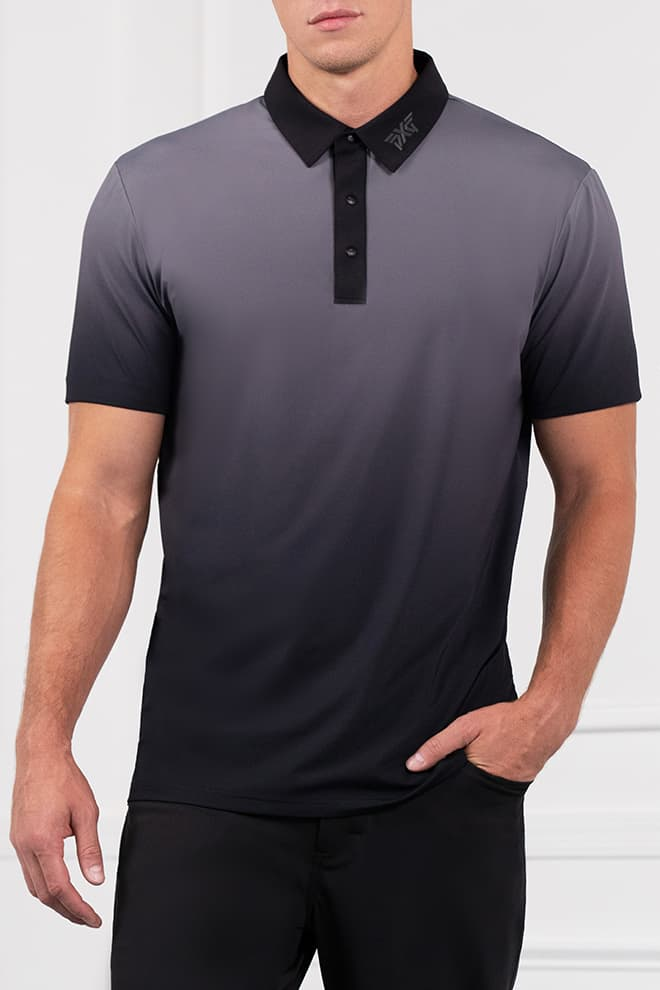 Athletic Fit Ombre Polo Image 1