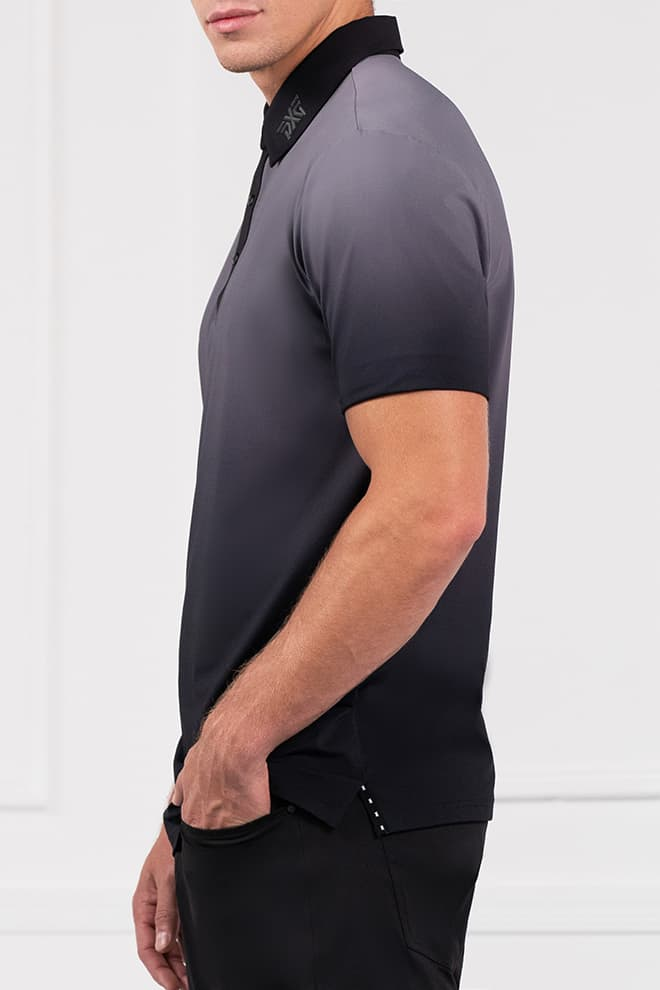 Athletic Fit Ombre Polo Image 2