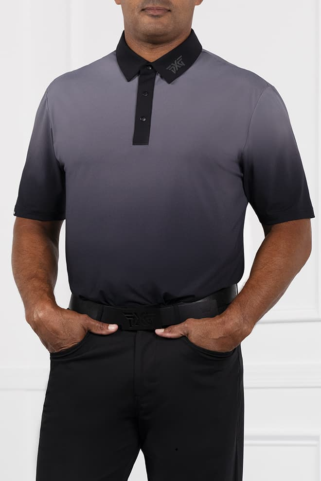 Comfort Fit Ombre Polo Image 1