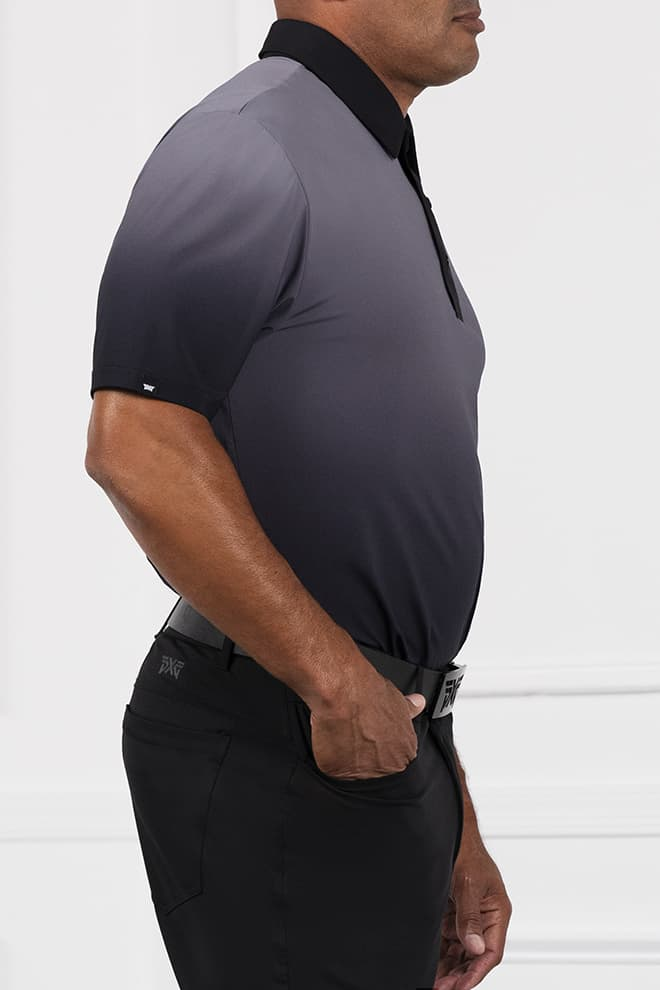 Comfort Fit Ombre Polo Image 2
