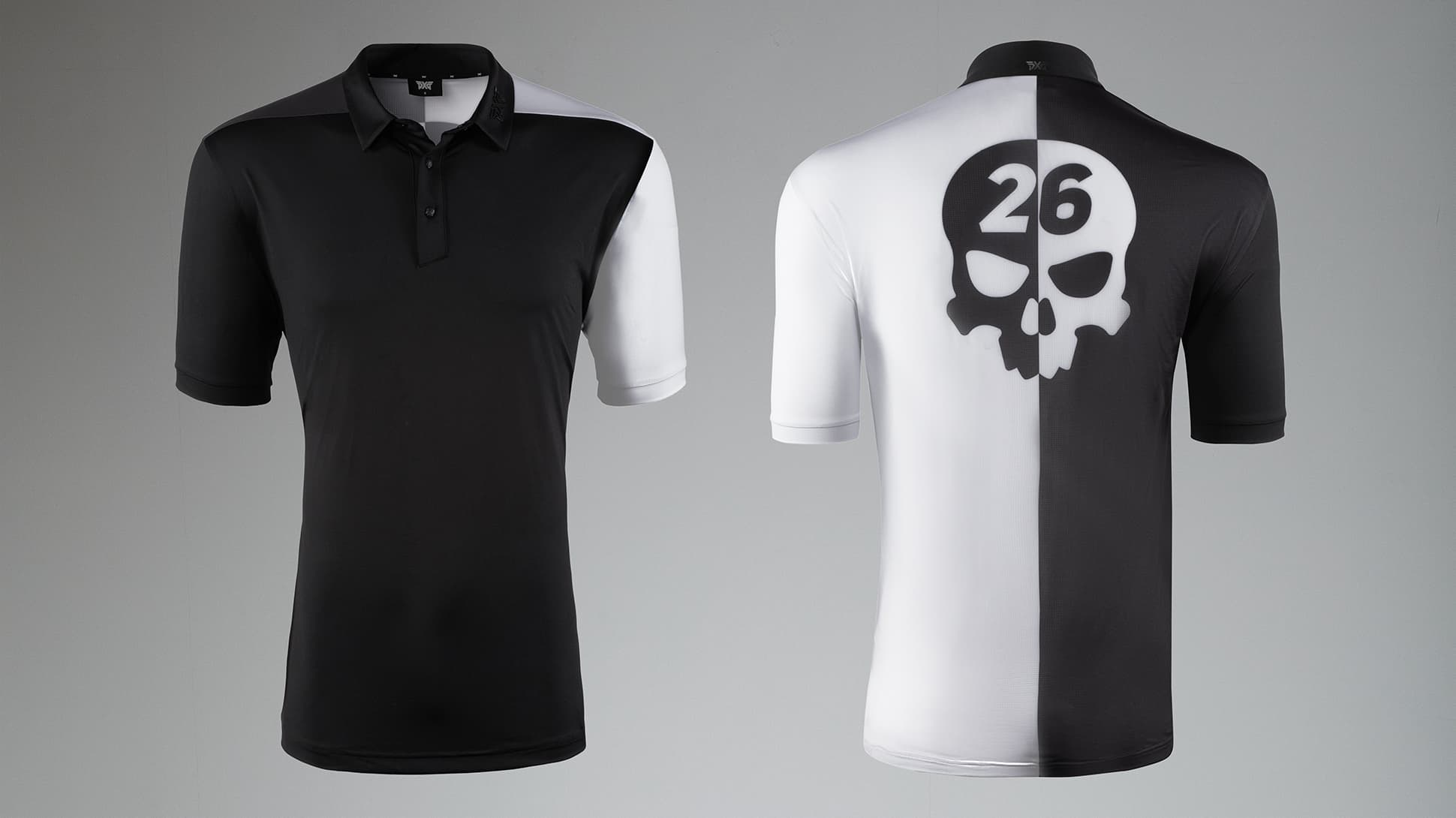 2-Tone Darkness Polo Image 2