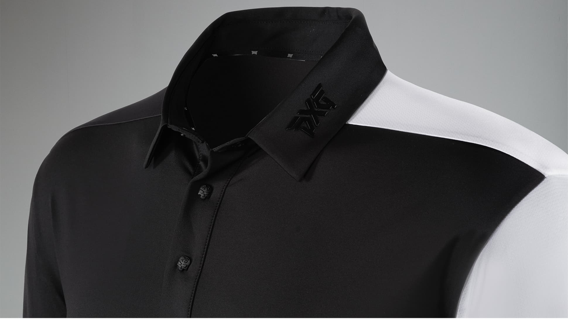2-Tone Darkness Polo Image 3