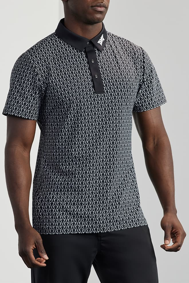 Athletic Fit Crossed Driver Polo Image 0