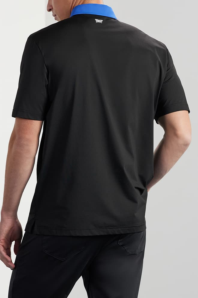 Comfort Fit Contrast Collar Polo Image 2